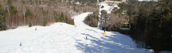 School skiing trip in USA