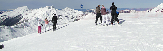School skiing trip in Italy