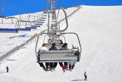 School skiing trip in Austria and beyond