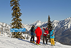 School skiing trip in Canada