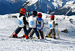 School skiing trip in Austria