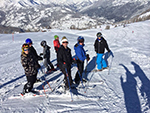 school skiing