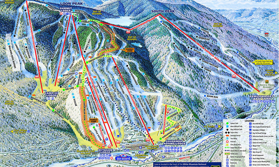 school ski trip in USA